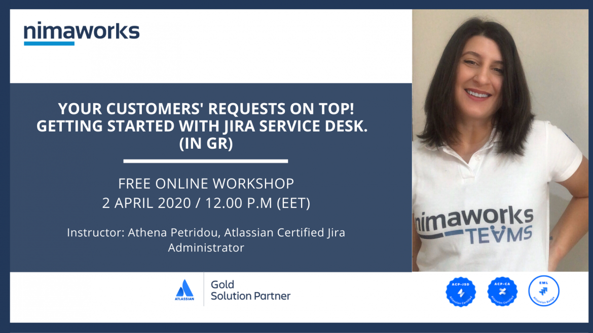 Your customers' requests on top! Getting started with Jira Service Desk.