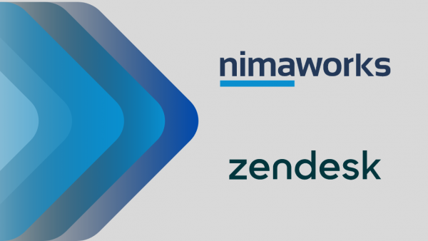 Nimaworks announces its partnership with Zendesk!