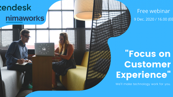 """Focus on Customer Experience"" free webinar"